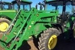 Tractor For Sale:  2013 John Deere 6125R