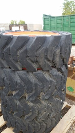 Wheels and Tires :  TY Cushion Tire LLC 33X12-20F2A
