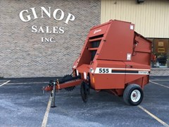 Baler-Round For Sale:  2000 Hesston 555