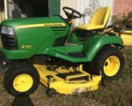 Riding Mower For Sale: 2010 John Deere X720, 27 HP