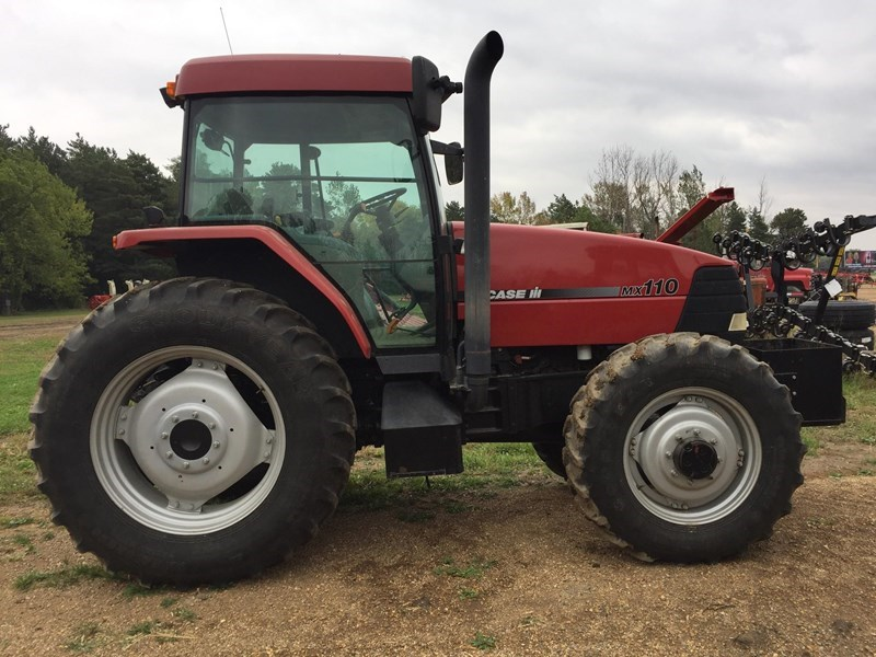 Case Tractor Mx110 : Photos of case ih mx tractor for sale miller