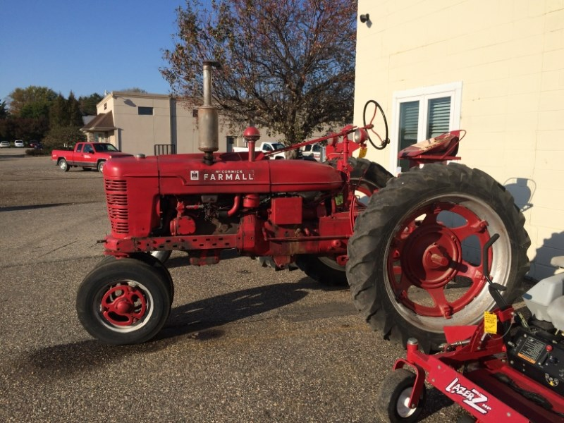 Farmall Compact Tractors For Sale : Farmall h tractor for sale minnesota ag group