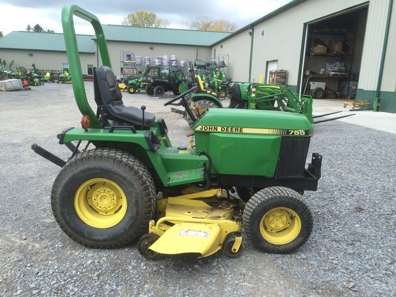 1990 john deere 755 tractor for sale landpro equipment. Black Bedroom Furniture Sets. Home Design Ideas