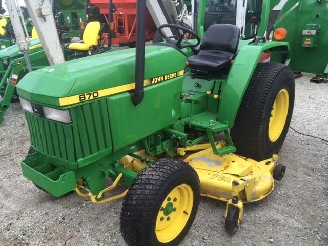 John Deere 870 Tractor Seat : John deere tractor compact for sale at manteno