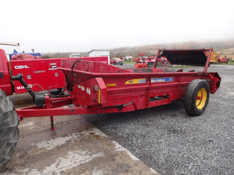2011 New Holland 165 Manure Spreader-Dry/Pull Type For Sale
