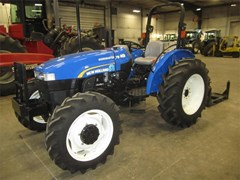 Tractor For Sale:  2012 New Holland WORKMASTER 75 , 75 HP