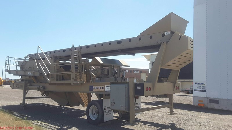 2013 ASTEC MOBILE SCREENS PTSC 2618VM Screening Plant - Hydraulic For Sale