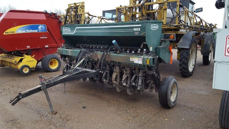 2002 Sukup 2055 18R7 Grain Drill For Sale