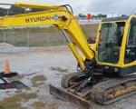 Excavator-Mini For Sale: 2006 Hyundai 55-7, 53 HP