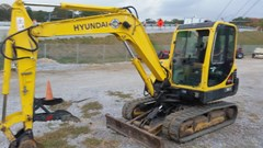 Excavator-Mini For Sale:  2006 Hyundai 55-7 , 53 HP