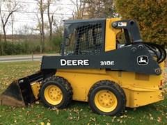 Skid Steer For Sale:  2014 John Deere 318E