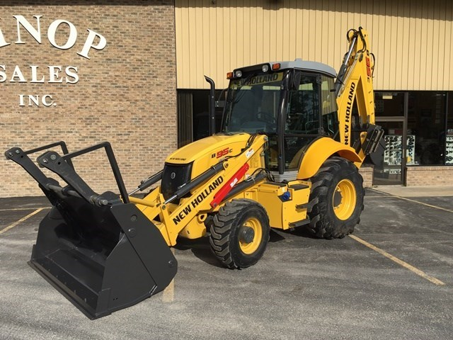 2015 New Holland B95C Loader Backhoe For Sale
