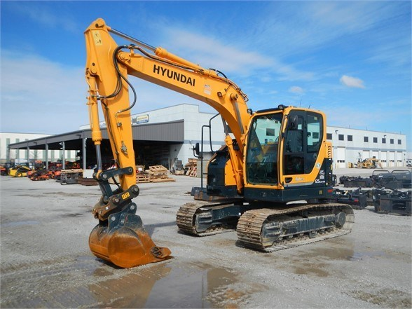 2016 Hyundai ROBEX 125 LCR-9A Excavator-Track For Sale