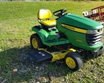 Riding Mower For Sale: 2010 John Deere X360, 22 HP