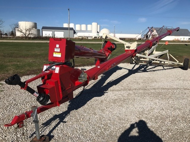 Farm king allied 10x60 auger portable for sale at melvin for Hydraulic auger motor for sale
