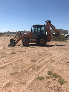 Loader Backhoe :  Case 580SN