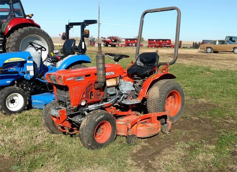 1980 Kubota B7100HSD Tractor For Sale