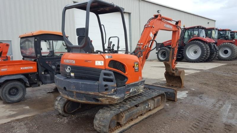 2012 Kubota KX121R1AT Excavator-Track For Sale