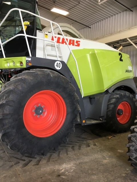 2014 Claas 980 Forage Harvester-Self Propelled For Sale