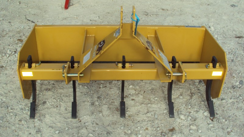 Dirt Dog New 3pt 5' HD box blade SBX60 with ripper teeth Blade Rear-3 Point Hitch For Sale