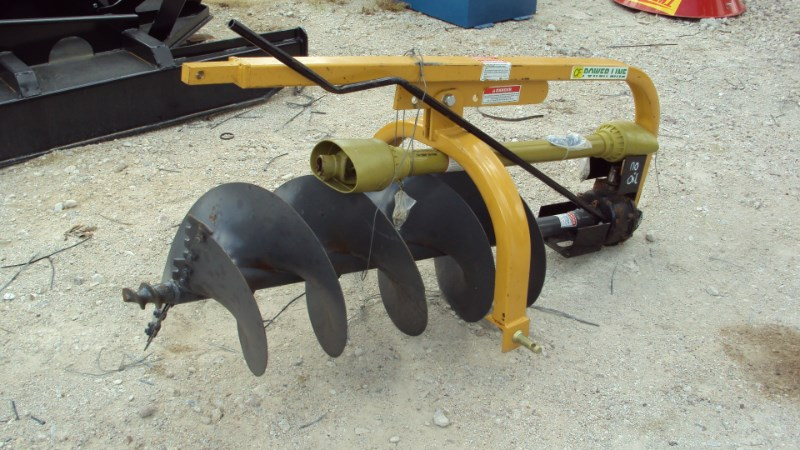 """Power Equipment  3pt HD post hole digger w/ 18"""" auger PL18 Post Hole Digger For Sale"""