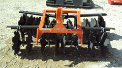 Disk Harrow For Sale:  Dirt Dog 100-8 3pt. tandem disc