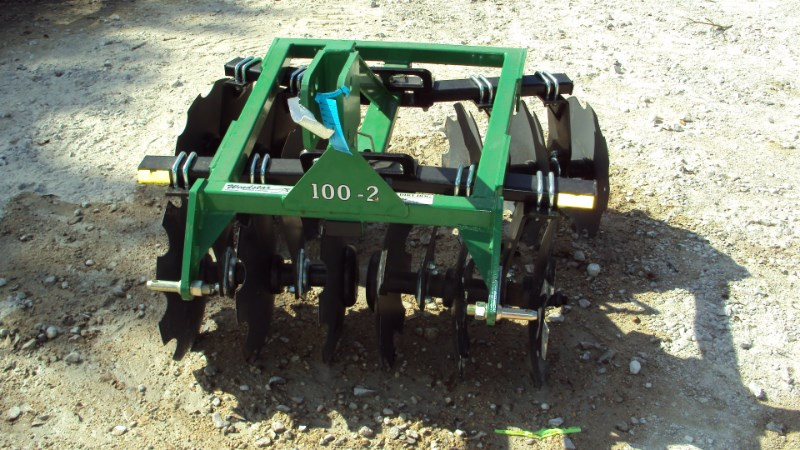 Dirt Dog 100-2 3pt. tandem disc Disk Harrow For Sale