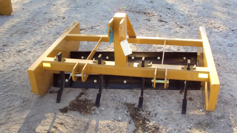 Dirt Dog GRB60 3pt. 5' bionic grader w/ rippers Blade Rear-3 Point Hitch For Sale