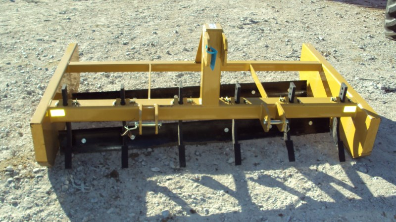 Dirt Dog GRB72 3pt 6' bionic grader w/ rippers Blade Rear-3 Point Hitch For Sale