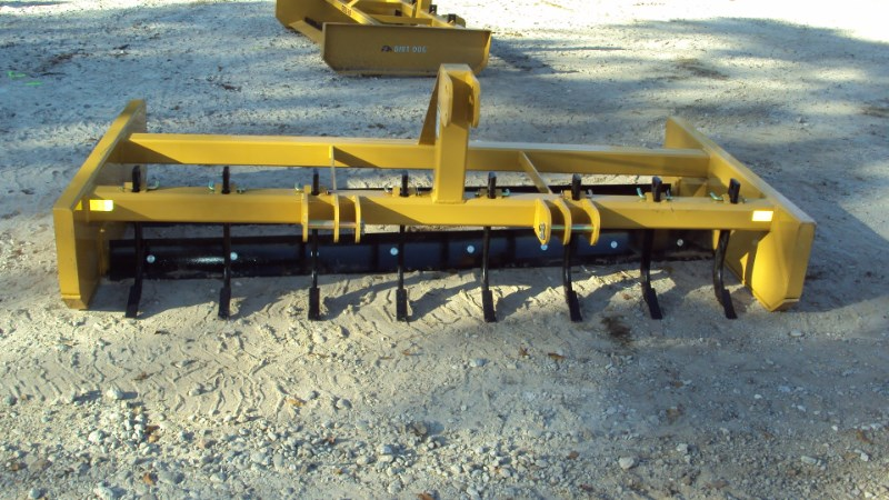 Dirt Dog HDGRB96 3pt. 8' bionic grader w/ scarfire teeth Blade Rear-3 Point Hitch For Sale
