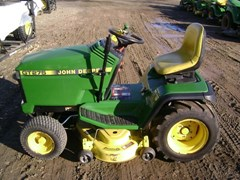 Riding Mower For Sale:  1996 John Deere GT275 , 17 HP