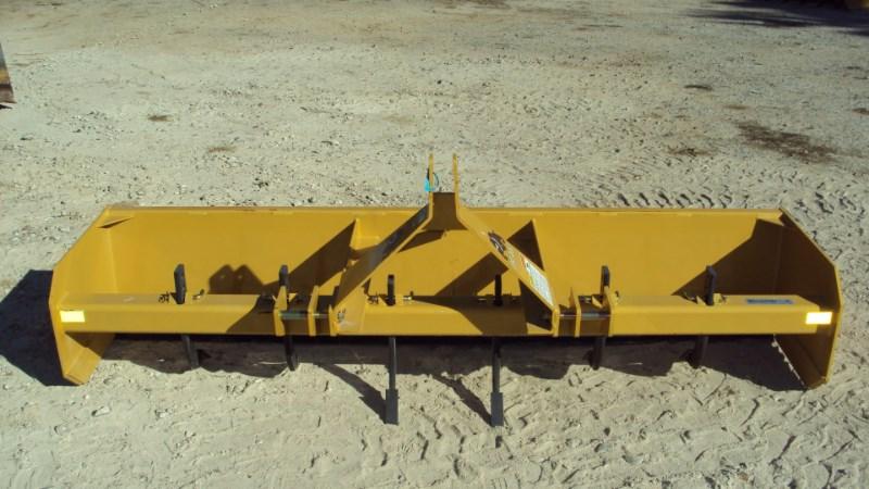 Dirt Dog 3pt 8' box blade w/ rear gate MBX96 Blade Rear-3 Point Hitch For Sale