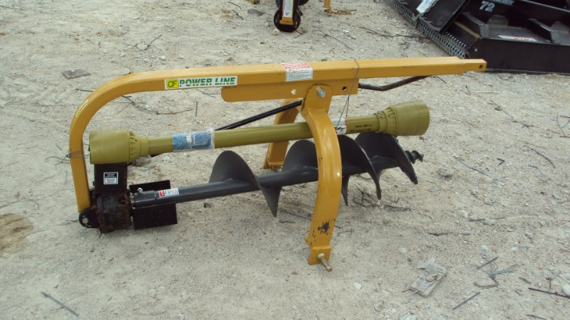 """Other 3pt HD post hole digger w/ 12"""" auger PL12 Post Hole Digger For Sale"""