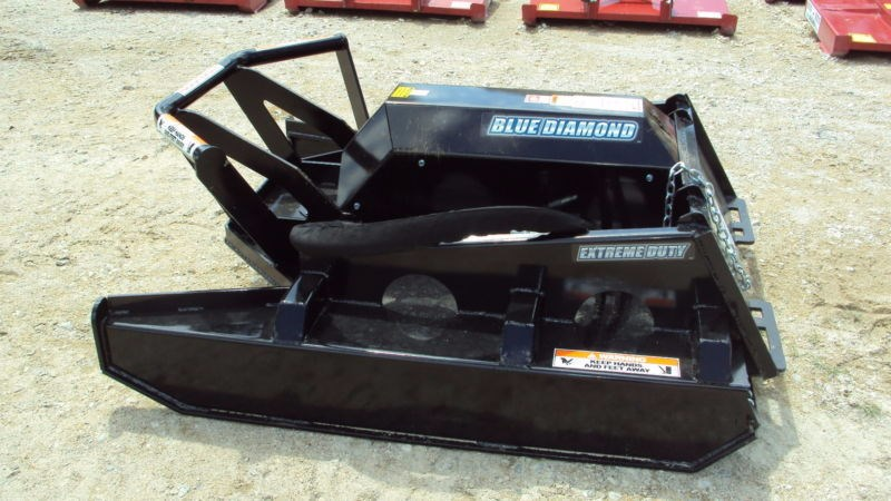 "Blue Diamond Extreme* Duty 60"" open front hydraulic brush cutte Skid Steer Attachment For Sale"