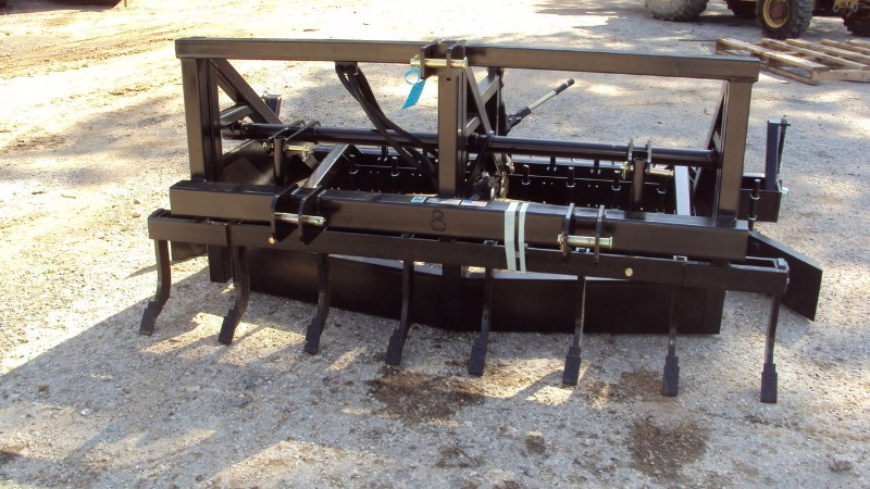 Lucas Super duty one pass 3pt 8' Arena drag tool (GROUND Drag Harrow For Sale