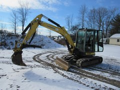 Excavator-Mini For Sale:  2015 Yanmar VIO55 5B , 47 HP