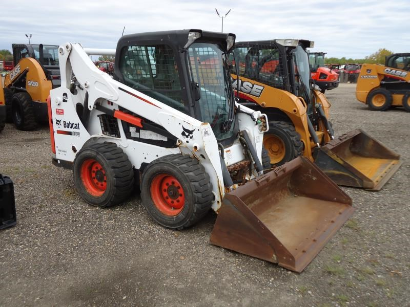 2013 Bobcat S570 Skid Steer For Sale