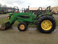 Tractor For Sale:  1973 John Deere 1520 , 48 HP