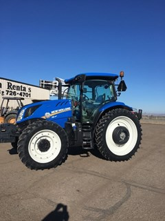 Tractor :  2016 New Holland T6.180
