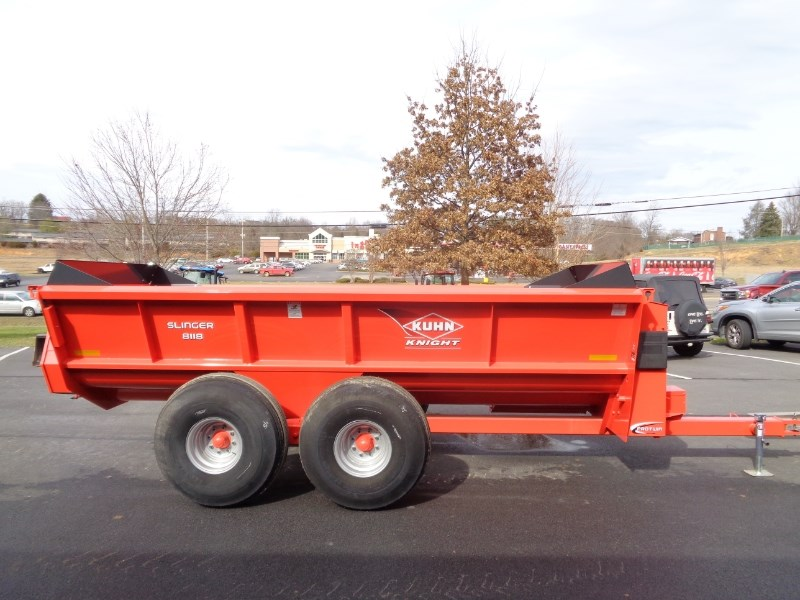 2015 Kuhn Knight 8118 Manure Spreader-Dry/Pull Type For Sale
