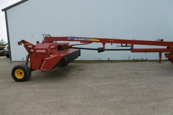 2012 New Holland H7450 Mower Conditioner For Sale