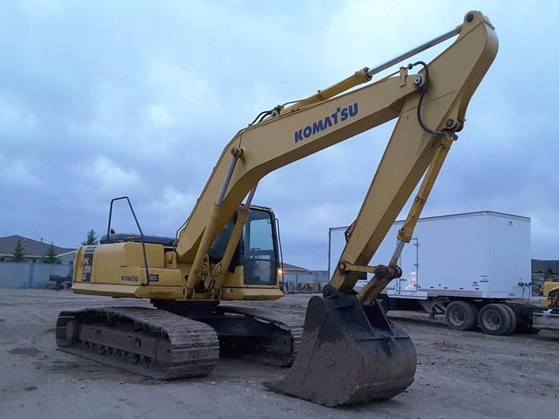 2003 Komatsu PC200LC-7 Excavator For Sale