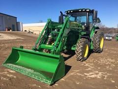 Tractor For Sale:  2016 John Deere 6130R , 130 HP