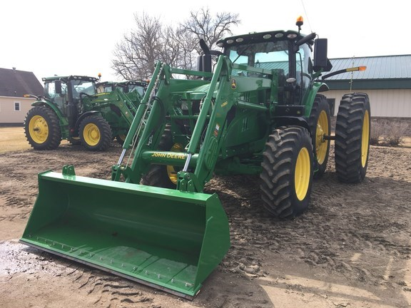 2016 John Deere 6195R Tractor For Sale