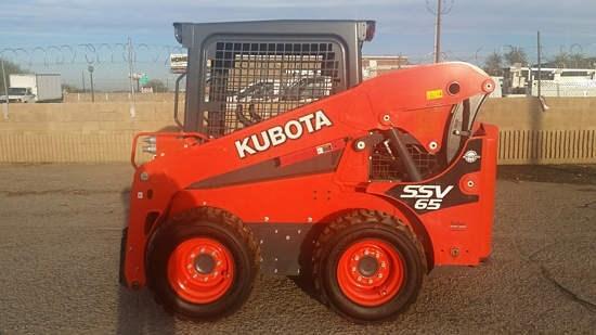 Kubota SSV65 Skid Steer