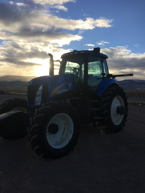 2011 New Holland T8020 Tractor For Sale