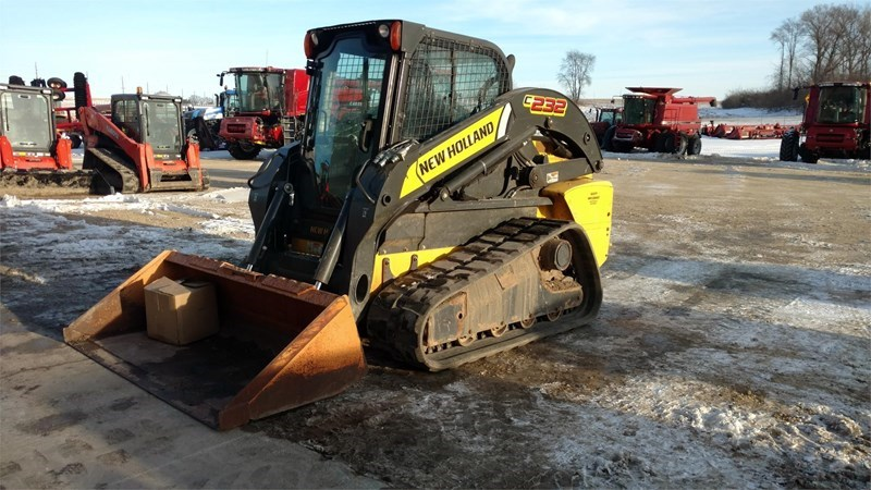 2012 New Holland C232 Skid Steer-Track For Sale