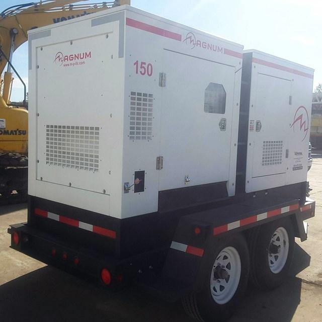 2014 Magnum 116 KW Generator & Power Unit For Sale