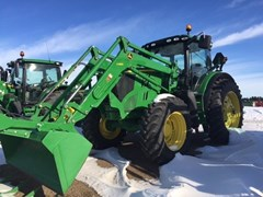 Tractor For Sale:  2012 John Deere 6210R , 210 HP