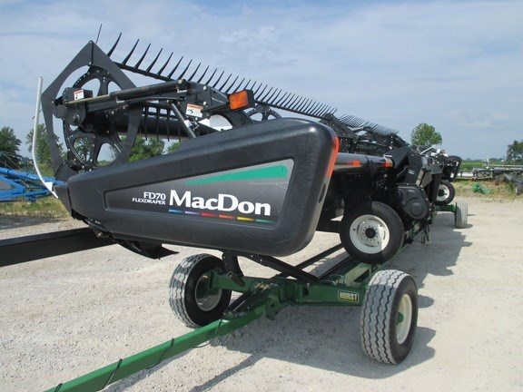 2011 Mac Don FD70-40 Header-Draper/Flex For Sale